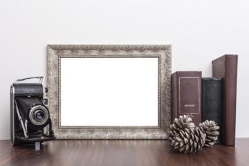 Horizontal Silver Frame
