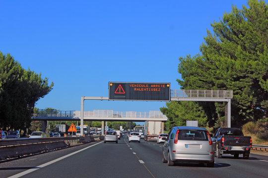 information sur l autoroute