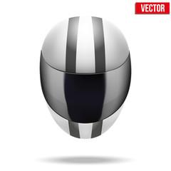High quality light white motorcycle helmet