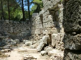 Fototapeta Antalya Phaselis Örenyeri - M.Ö.690 Rodoslular - Sonra Roma obraz