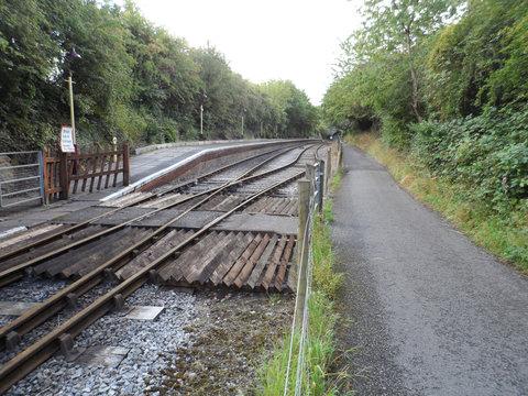 Bristol to Bath Railway Path Crossing