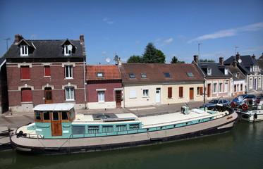 Ecluse à Sempigny dans l'Oise.