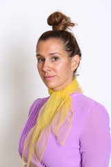 Portrait of a Young Woman School Teacher