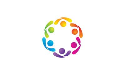 Community Logo Image Vector