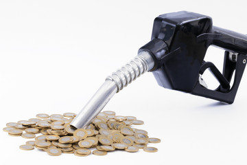 koszt, polskie pieniądze, złotówki, paliwo, tankowanie paliwa