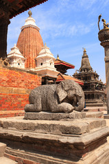 Sculptures of elephant, Patan, Kathmandu valley, Nepal