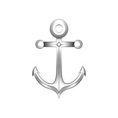 Anchor logo vector illustration