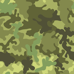 Military army seamless pattern. Vector illustration for fabric.