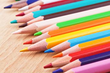 colored pensils
