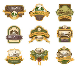 Organic farming lables