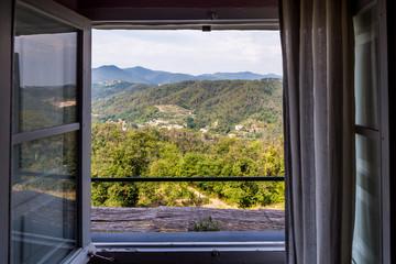 sala ristorante con vista panoramica