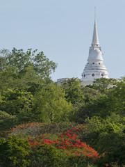 The Beautiful view on Sri chang island at sriracha ampor ,chonburi province,Thailand
