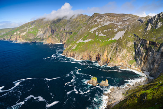 Slieve League Cliffs, County Donegal, Ireland