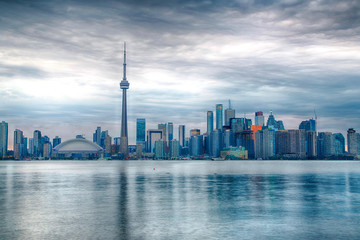 Deurstickers Toronto Canada - Toronto - Skyline