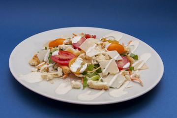 vegetarian salad ceasar