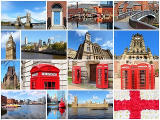 England - photo collage