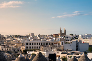 Skyline of Alberobello (Puglia - Italy)