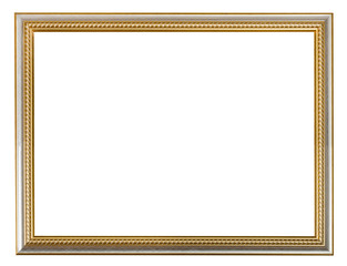 golden carved wooden picture frame
