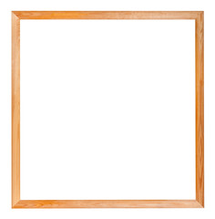 modern simple square narrow wooden picture frame
