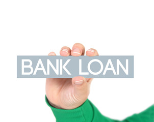 Currency concept  Bank Loan