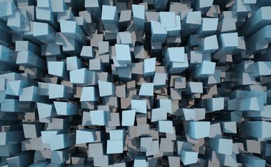 Glossy block background.