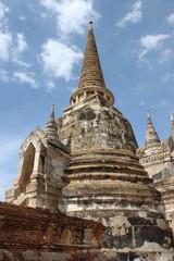Wat Phra Si Sanphet. Ayutthaya historical park, Thailand.