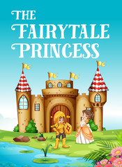 Fairy tale princess and knight