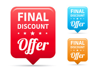 Final Discount Offer Tags