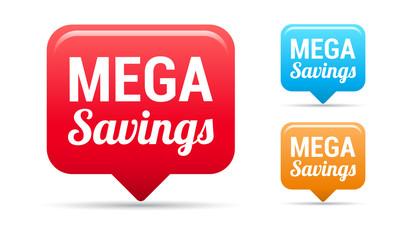 Mega Savings Tags