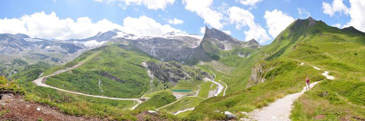 Bergkulisse am Hintertuxer Gletscher