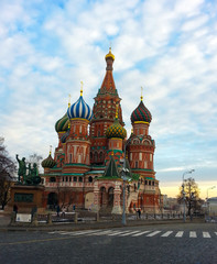 Saint Basil the Blessed, Moscow Red Square