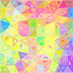 Pastel colors abstract triangles vector background