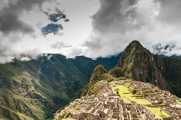 Machu Picchu (Peru, South America), a UNESCO World Heritage