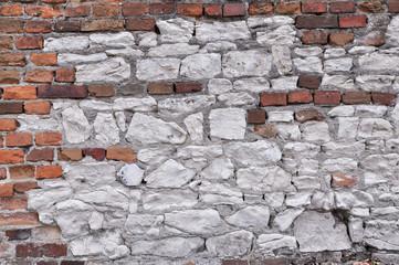 ściana - cegły