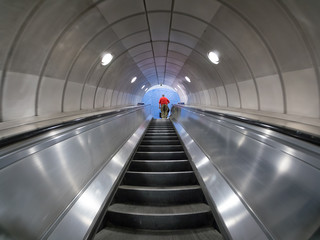 London subway escalators
