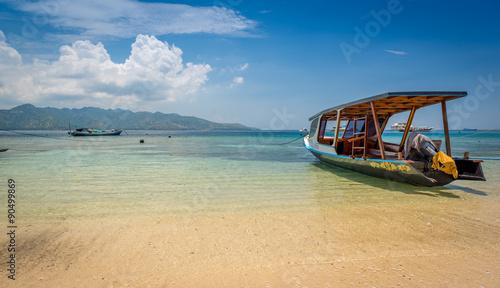 лодка на острова гили