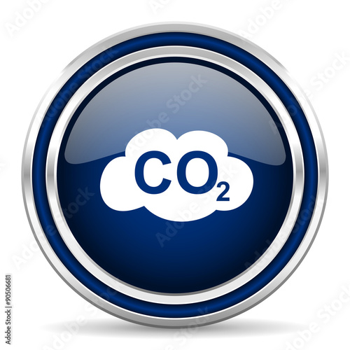 carbon dioxide and green blue