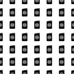 Passport seamless pattern. Vector