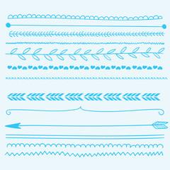 Hand drawn border