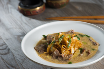 wat tan hor, popular cantonese fried noodle in south east asia