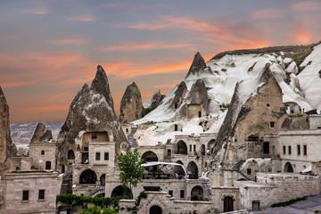 Cappadocia, Anatolia, Turkey. Open air museum, Goreme park
