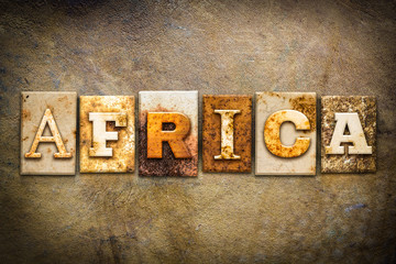 Africa Concept Letterpress Leather Theme