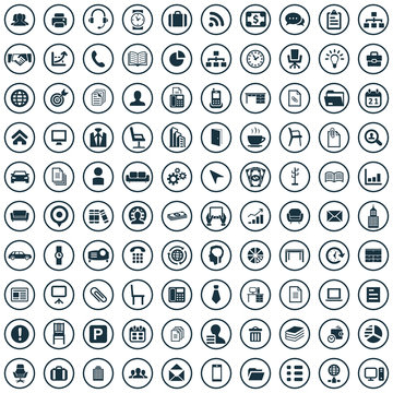 office 100 icons universal set