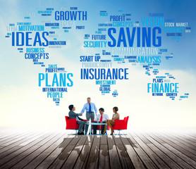 Saving Insurance Plans Ideas Finance Growth Analysis Concept