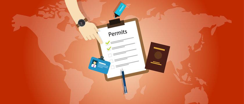 work travel permits passport application immigration