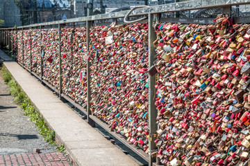 bridge of love - locks bridge