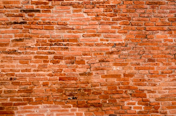 brick wall ted background texture old brown bricks house stone construction