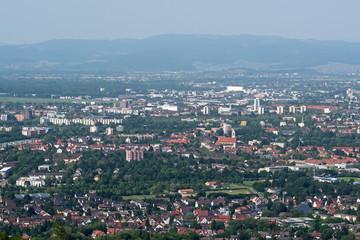 Freiburg und Rheinebene