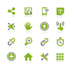System Icons Interface // Natura Series