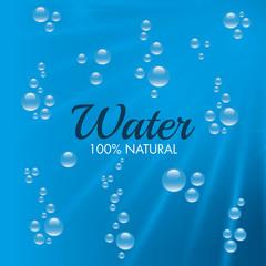 Natural water design.